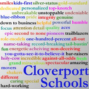 Cloverport Schools Ad