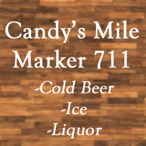Candy's Mile Marker 7 11 Ad