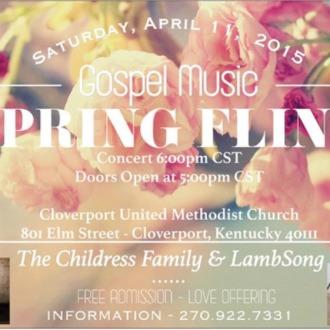 2015 Gospel Music Spring Fling